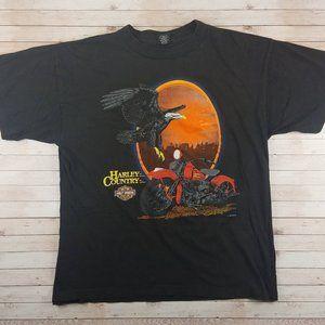 VTG 80s/90s Harley Davidson Eagle Fun-Wear T-Shirt